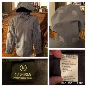 Men's Tactical Rain Wind Jacket